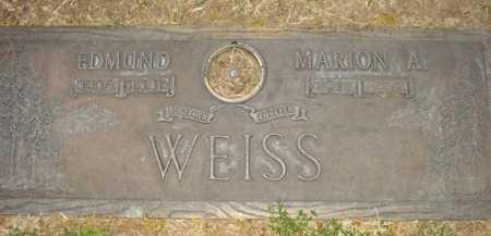 WEISS, EDMUND - Maricopa County, Arizona | EDMUND WEISS - Arizona Gravestone Photos