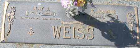 WEISS, RAY J - Maricopa County, Arizona | RAY J WEISS - Arizona Gravestone Photos