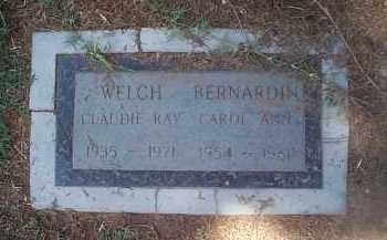 BERNARDIN, CAROL ANN - Maricopa County, Arizona   CAROL ANN BERNARDIN - Arizona Gravestone Photos