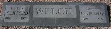WELCH, CLIFFORD - Maricopa County, Arizona | CLIFFORD WELCH - Arizona Gravestone Photos