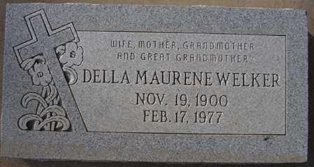 WELKER, DELLA MAURENE - Maricopa County, Arizona   DELLA MAURENE WELKER - Arizona Gravestone Photos