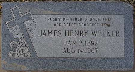 WELKER, JAMES HENRY - Maricopa County, Arizona   JAMES HENRY WELKER - Arizona Gravestone Photos