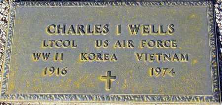 WELLS, CHARLES I. - Maricopa County, Arizona | CHARLES I. WELLS - Arizona Gravestone Photos