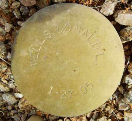WELLS, DONALD L. - Maricopa County, Arizona   DONALD L. WELLS - Arizona Gravestone Photos