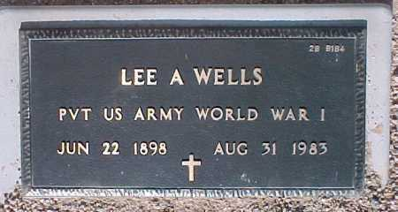 WELLS, LEE A. - Maricopa County, Arizona | LEE A. WELLS - Arizona Gravestone Photos