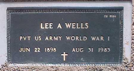WELLS, LEE A. - Maricopa County, Arizona   LEE A. WELLS - Arizona Gravestone Photos