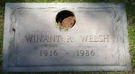 WELSH, WINANT R - Maricopa County, Arizona | WINANT R WELSH - Arizona Gravestone Photos