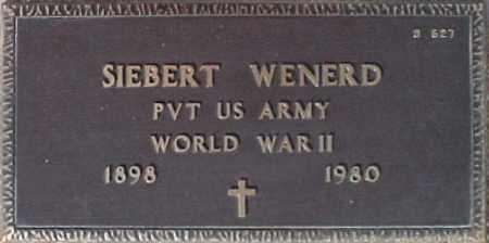 WENERD, SIEBERT - Maricopa County, Arizona | SIEBERT WENERD - Arizona Gravestone Photos