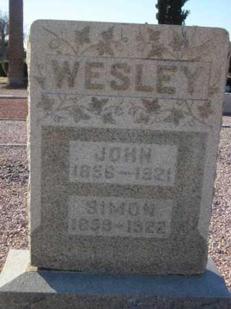 WESLEY, JOHN - Maricopa County, Arizona | JOHN WESLEY - Arizona Gravestone Photos