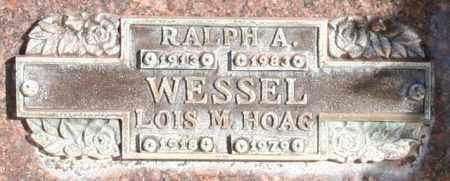 WESSEL, RALPH A - Maricopa County, Arizona | RALPH A WESSEL - Arizona Gravestone Photos
