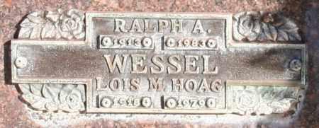WESSEL, LOIS M - Maricopa County, Arizona   LOIS M WESSEL - Arizona Gravestone Photos