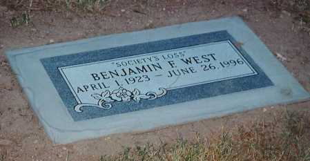 WEST, BENJAMIN F. - Maricopa County, Arizona | BENJAMIN F. WEST - Arizona Gravestone Photos