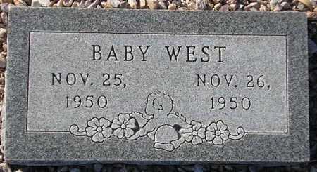 WEST, BABY - Maricopa County, Arizona   BABY WEST - Arizona Gravestone Photos