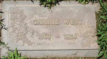 WEST, CARRIE - Maricopa County, Arizona | CARRIE WEST - Arizona Gravestone Photos