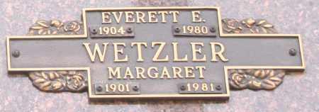 WETZLER, EVERETT E - Maricopa County, Arizona | EVERETT E WETZLER - Arizona Gravestone Photos