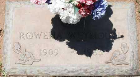 WEYMOUTH, ROWENA - Maricopa County, Arizona | ROWENA WEYMOUTH - Arizona Gravestone Photos