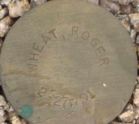 WHEAT, ROGER - Maricopa County, Arizona   ROGER WHEAT - Arizona Gravestone Photos