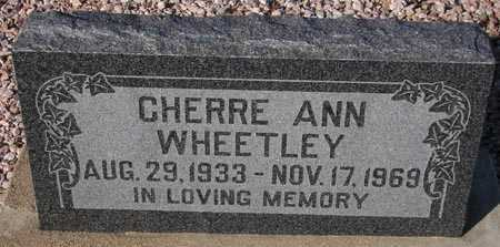 WHEETLEY, CHERRE ANN - Maricopa County, Arizona | CHERRE ANN WHEETLEY - Arizona Gravestone Photos