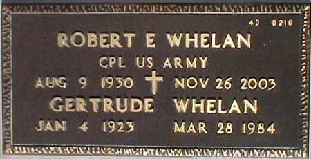 WHELAN, ROBERT E. - Maricopa County, Arizona | ROBERT E. WHELAN - Arizona Gravestone Photos