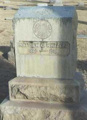 WHITACRE, MATTHEW C. - Maricopa County, Arizona   MATTHEW C. WHITACRE - Arizona Gravestone Photos