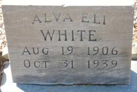 WHITE, ALVA ELI - Maricopa County, Arizona   ALVA ELI WHITE - Arizona Gravestone Photos