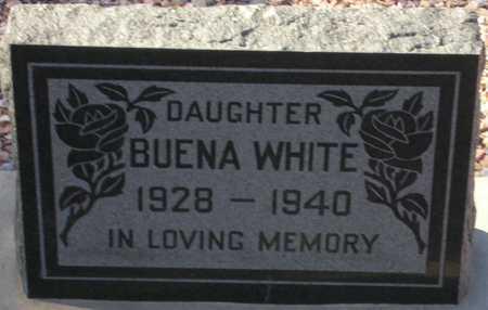WHITE, BUENA - Maricopa County, Arizona | BUENA WHITE - Arizona Gravestone Photos