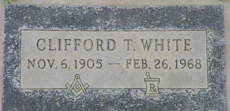 WHITE, CLIFFORD T - Maricopa County, Arizona | CLIFFORD T WHITE - Arizona Gravestone Photos