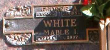 WHITE, GEORGE A - Maricopa County, Arizona | GEORGE A WHITE - Arizona Gravestone Photos