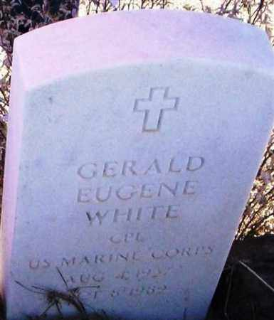WHITE, GERALD EUGENE - Maricopa County, Arizona | GERALD EUGENE WHITE - Arizona Gravestone Photos