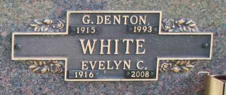 WHITE, EVELYN C - Maricopa County, Arizona | EVELYN C WHITE - Arizona Gravestone Photos
