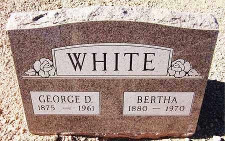 WHITE, GEORGE D. - Maricopa County, Arizona | GEORGE D. WHITE - Arizona Gravestone Photos