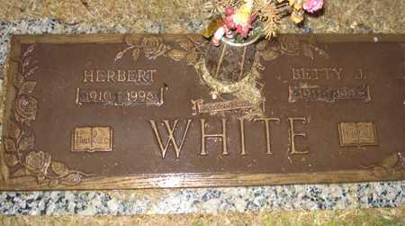 WHITE, BETTY J. - Maricopa County, Arizona | BETTY J. WHITE - Arizona Gravestone Photos