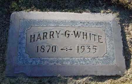WHITE, HARRY G. - Maricopa County, Arizona   HARRY G. WHITE - Arizona Gravestone Photos