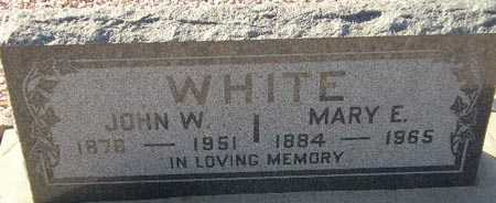 WHITE, JOHN W. - Maricopa County, Arizona | JOHN W. WHITE - Arizona Gravestone Photos