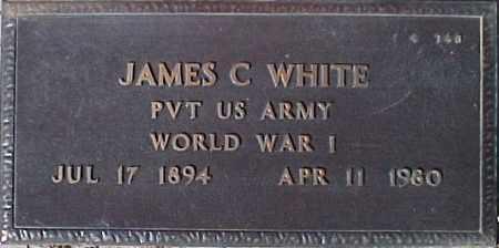 WHITE, JAMES C. - Maricopa County, Arizona | JAMES C. WHITE - Arizona Gravestone Photos
