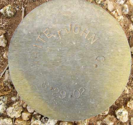 WHITE, JOHN C. - Maricopa County, Arizona | JOHN C. WHITE - Arizona Gravestone Photos