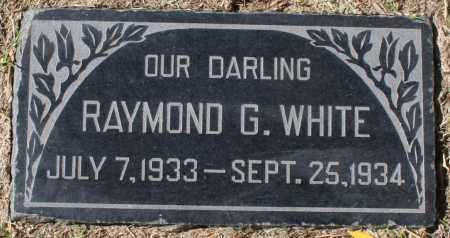 WHITE, RAYMOND G - Maricopa County, Arizona | RAYMOND G WHITE - Arizona Gravestone Photos