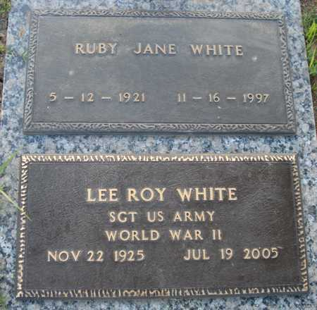 WHITE, RUBY JANE - Maricopa County, Arizona | RUBY JANE WHITE - Arizona Gravestone Photos