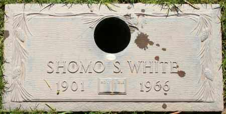 WHITE, SHOMO S - Maricopa County, Arizona | SHOMO S WHITE - Arizona Gravestone Photos