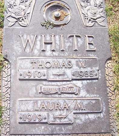 WHITE, THOMAS W. - Maricopa County, Arizona   THOMAS W. WHITE - Arizona Gravestone Photos
