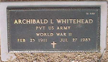 WHITEHEAD, ARCHIBALD L. - Maricopa County, Arizona | ARCHIBALD L. WHITEHEAD - Arizona Gravestone Photos