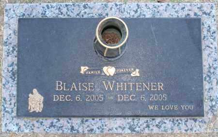 WHITENER, BLAISE - Maricopa County, Arizona   BLAISE WHITENER - Arizona Gravestone Photos