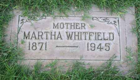 DUNN WHITFIELD, MARTHA SARAH - Maricopa County, Arizona | MARTHA SARAH DUNN WHITFIELD - Arizona Gravestone Photos