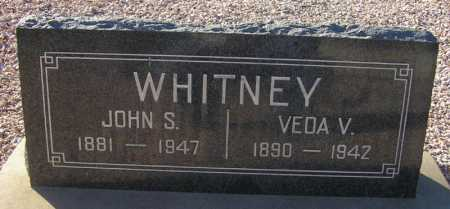 WHITNEY, VEDA V. - Maricopa County, Arizona | VEDA V. WHITNEY - Arizona Gravestone Photos