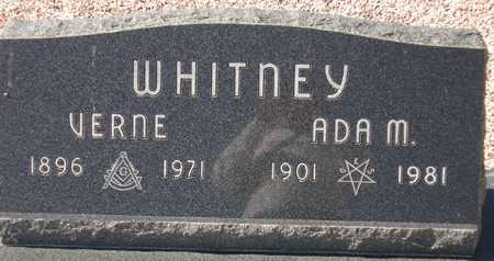 WHITNEY, ADA M. - Maricopa County, Arizona | ADA M. WHITNEY - Arizona Gravestone Photos