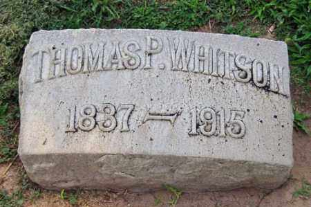 WHITSON, THOMAS P. - Maricopa County, Arizona | THOMAS P. WHITSON - Arizona Gravestone Photos