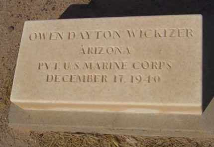 WICKIZER, OWEN DAYTON - Maricopa County, Arizona | OWEN DAYTON WICKIZER - Arizona Gravestone Photos
