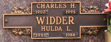 WIDDER, CHARLES H - Maricopa County, Arizona   CHARLES H WIDDER - Arizona Gravestone Photos