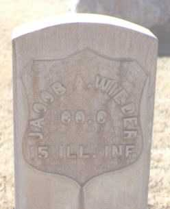 WIEDER, JACOB A. - Maricopa County, Arizona | JACOB A. WIEDER - Arizona Gravestone Photos