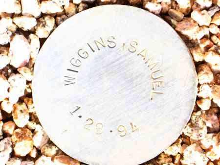 WIGGINS, SAMUEL - Maricopa County, Arizona | SAMUEL WIGGINS - Arizona Gravestone Photos